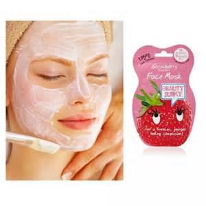 masque a la fraise